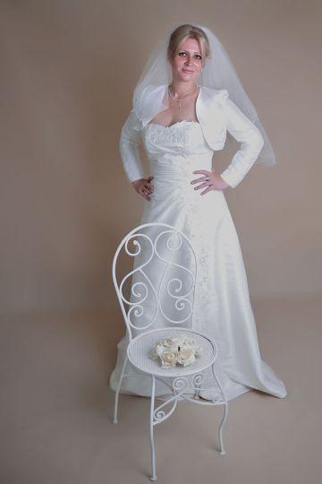 svadobné šaty vel. 38-40 6026835711b